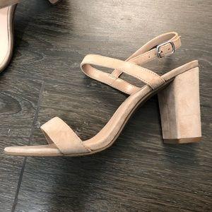 BP heeled sandal, size 8, worn once